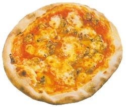 Фото пиццы Pizza alle vongole