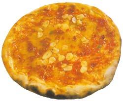 Фото пиццы Pizza aglio e olio
